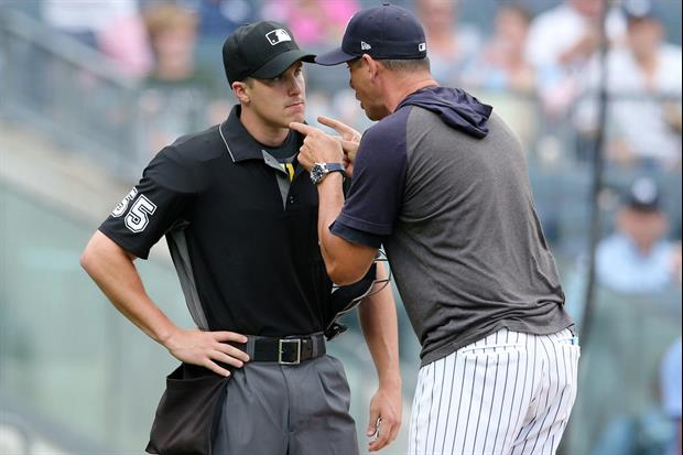 Yankees Manager Aaron Boone Goes On Epic NSFW Tirade On Home Plate Umpire