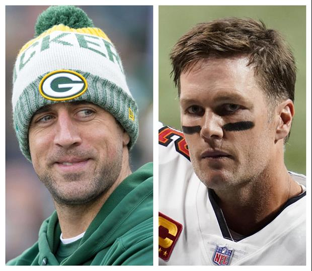 Aaron Rodgers Posts Funny Video Critiquing Tom Brady's Golf Game Prior To 'The Match'