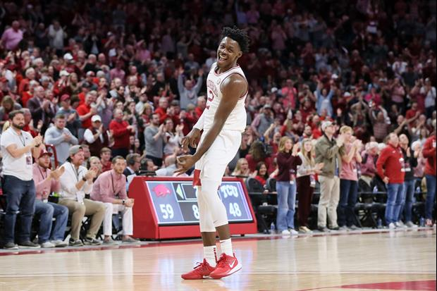 Arkansas Forward Adrio Bailey With The Flop Of The Year, here's video