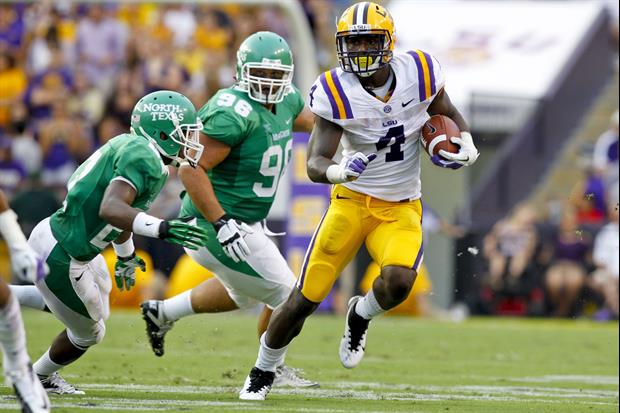 Former LSU players Marcus Spears, Stevan Ridley and Alfred Blue will be guest captains this weekend.