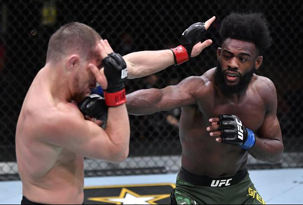 Aljamain Sterling Wins Bantamweight Title Via Disqualification After Knee By Petr Yan