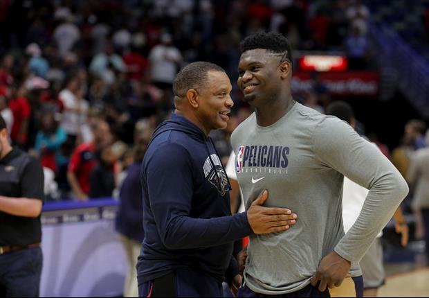 Alvin Gentry Had Awesome Advice For Zion Williamson Before Last Night's Game