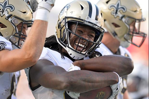 New Orleans Rapper Curren$y Gifts Saints RB Alvin Kamara This Diamond Rolex...