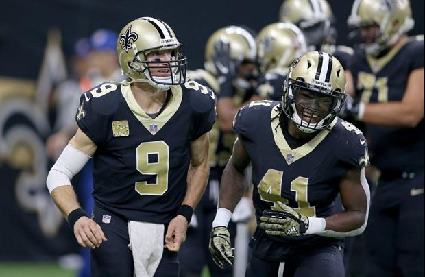 Alvin Kamara Has This Message For Those Criticizing Drew Brees' Arm
