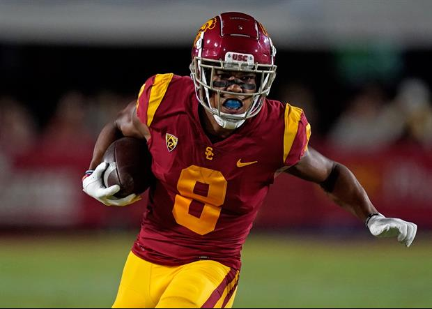 USC Trojans WR Amon-Ra St. Brown Has A Message For Alabama