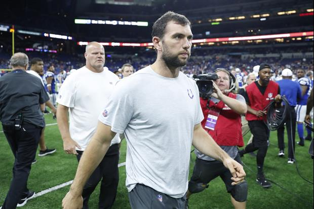 Colts QB Andrew Luck Retires, Gets Booed As He Left The Field After Preseason Game