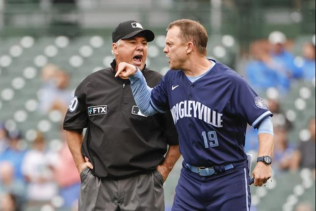 Cubs Interim Manager Andy Green Went Ballistic After Getting Ejected