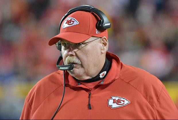 Of Course Chiefs Coach Andy Reid Was On 'Diners, Drive-Ins and Dives'