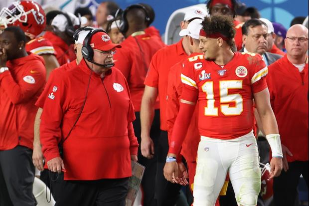 Chiefs Fan Gets Awesome Andy Reid, Patrick Mahomes Star Wars/Mandalorian Tattoo