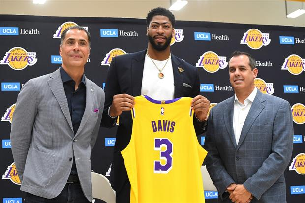 Now being a Laker for a couple of months, former Pelicans star Anthony Davis suddenly has a personal