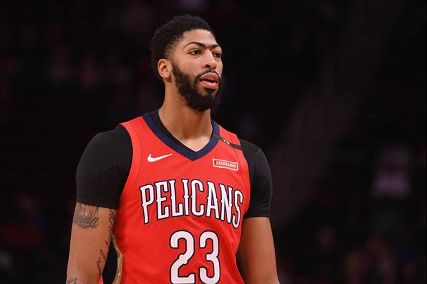 Anthony Davis Showed Up To His Last Pelicans Game Wearing a 'That's All Folks' Shirt