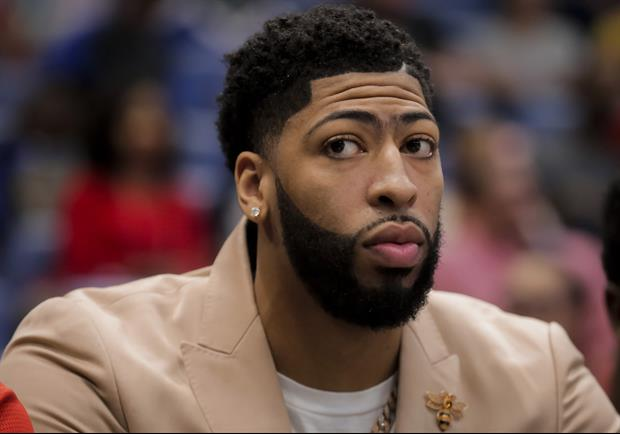 Here's What Pelicans star Anthony Davis Had To Say About His 'That's All Folks' Shirt