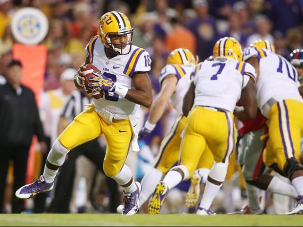 LSU is projected to be ranked number 15 in the latest college football polls.