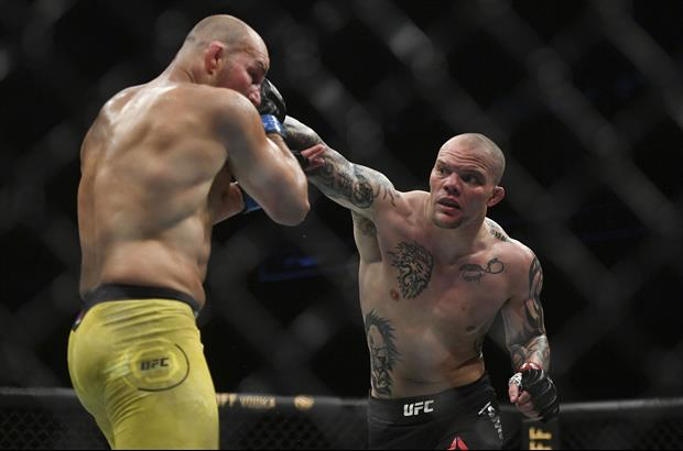 Watch UFC fighter Anthony Smith get the teeth literally knocked out of him by Glover Teixeira last n