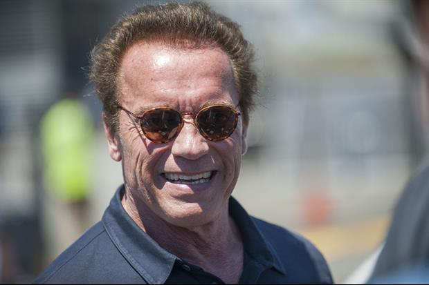 Watch Video of Arnold Schwarzenegger Attacked in South Africa With A Dropkick To The Back
