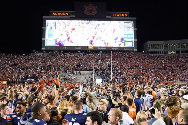 Auburn Trolled Alabama After Win Playing 'Dixieland Delight' At Jordan-Hare