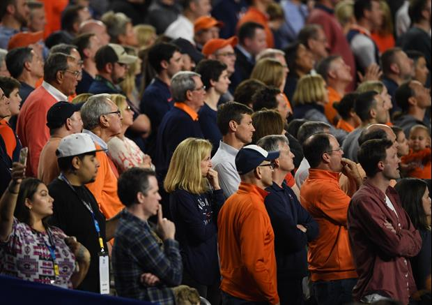 This Auburn Fan Went All NSFW Work On Refs As They Left The Floor