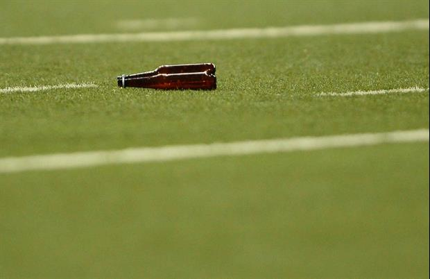 This Browns Fan Ripped Through 15 Beers At Sunday's Cowboys Game