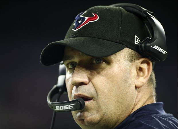 This Young Texans Fan Got A Bill O'Brien Autograph For Christmas And It Set Him Off