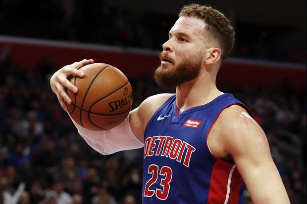Blake Griffin Joined The Crowd In Chanting 'Ref You Suck' While Playing Last Night