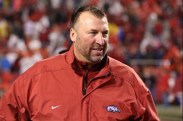 Bret Bielema Makes Crack About Bobby Petrino Motorcycle Incident