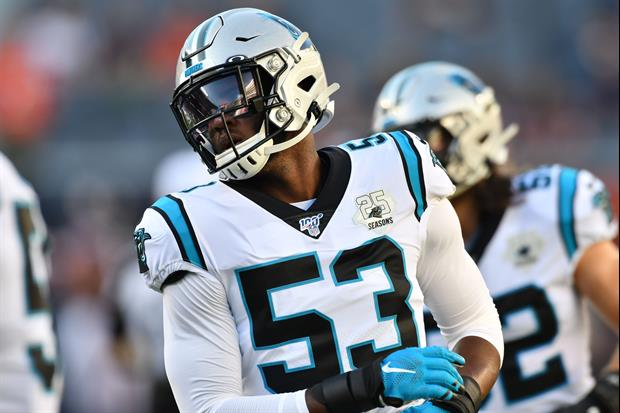 Check Out Carolina Panthers LB Brian Burns' New Spiderman Facemask