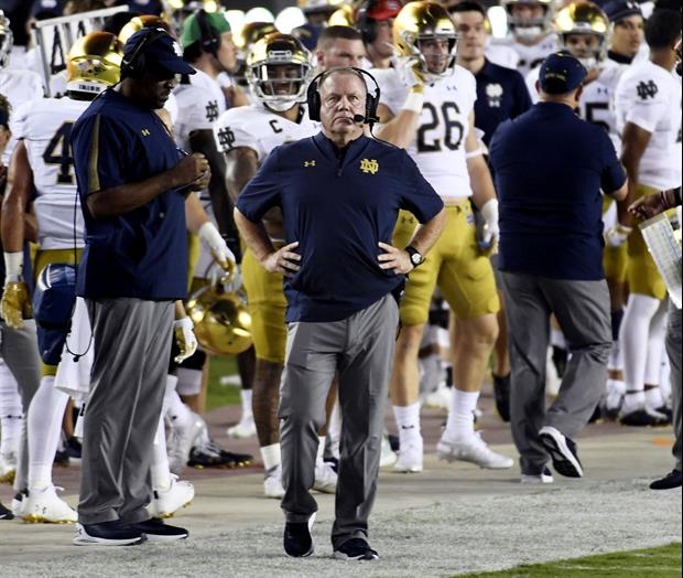 Did You Hear Brian Kelly's Quote In ABC Interview After Notre Dame Beat FSU Last Night?