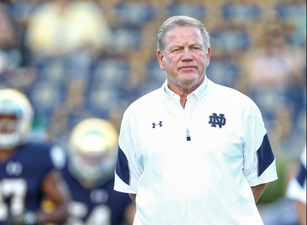 Notre Dame Vs. Wake Forest Game Officially Postponed After 7 ND Players Test Positive