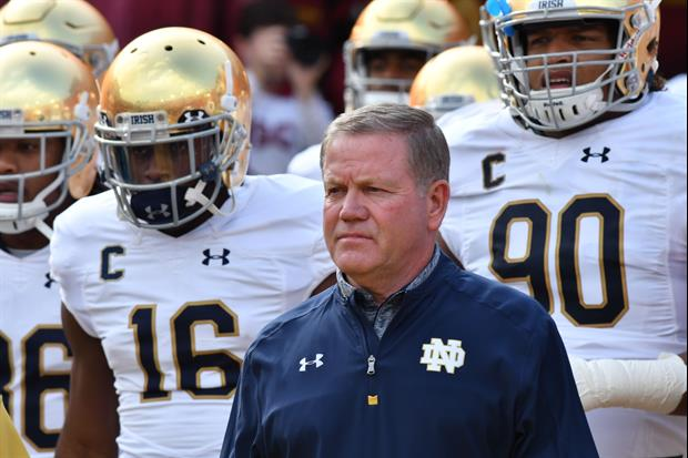 Brian Kelly Says Notre Dame May Schedule Easier Games For To Make The Playoff