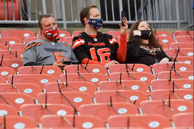 Fight Broke Out Among Fans At Browns Vs. Bengals Game