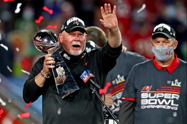 Bucs Head Coach Bruce Arians Got This Tattoo To Commemorate Super Bowl Win