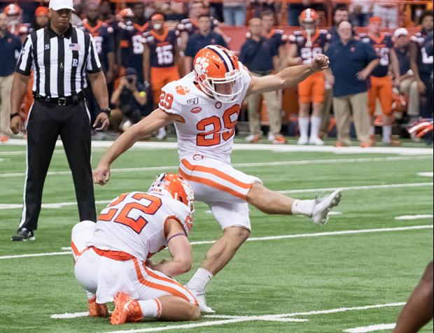 Dabo Swinney Goes After His Kicker After Missing A Field Goal Up 28-0