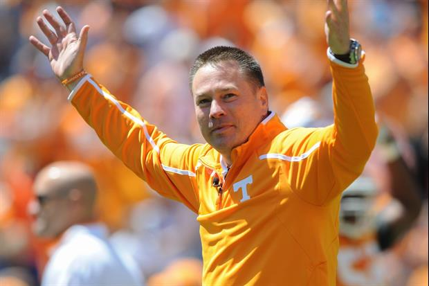 Butch Jones Is Reportedly Talking To Tennessee Commits After Getting Fired