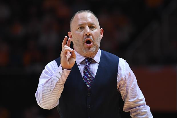 Texas A&M Coach Buzz Williams Had A Bit Of A Sweating Problem During Yesterday's Game