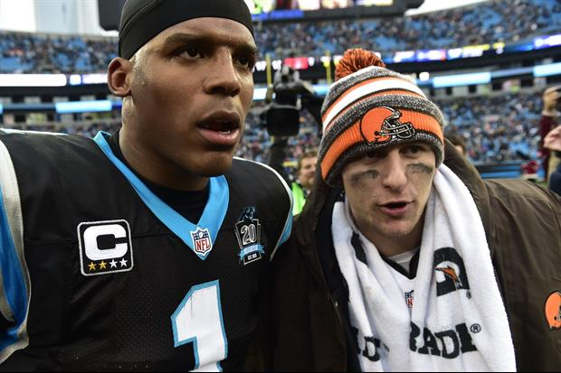 Cam Newton Calls Panthers Fans 'Classless' For Cheering Manziel Injury