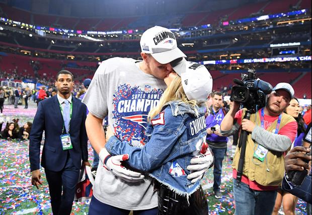 Rob Gronkowski's Girlfriend Camille Kostek Shows Off His New Super Bowl Ring