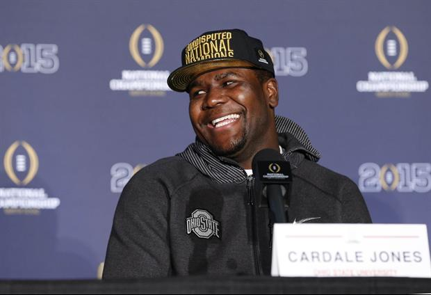 Cardale Jones Upset About Being Benched, Changes Twitter Bio