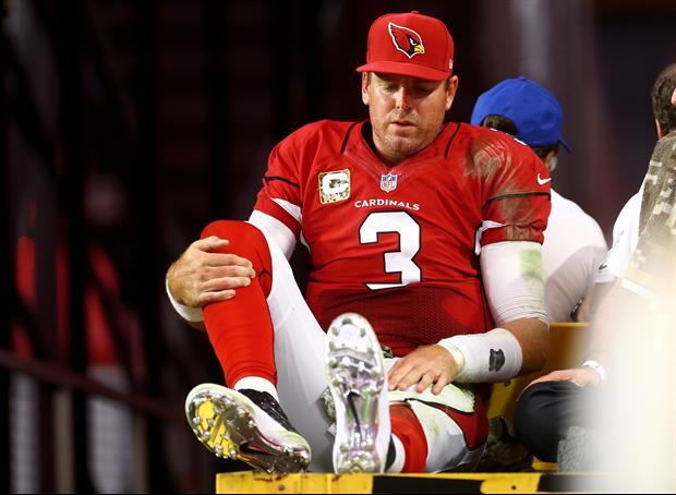 Carson Palmer will miss the rest of the season with a torn ALC.