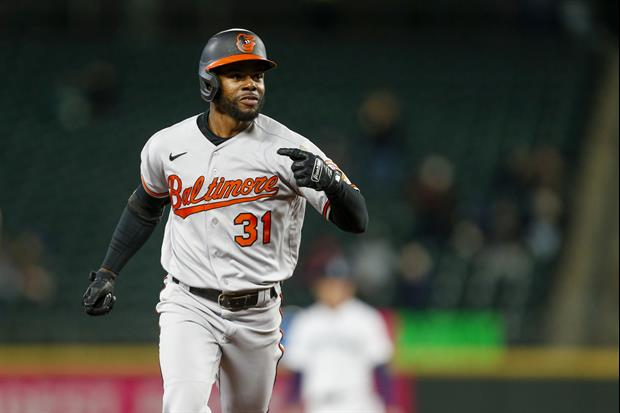 Watch Orioles Outfielder Cedric Mullins Turn a Pop Up To Shortstop Into A Triple