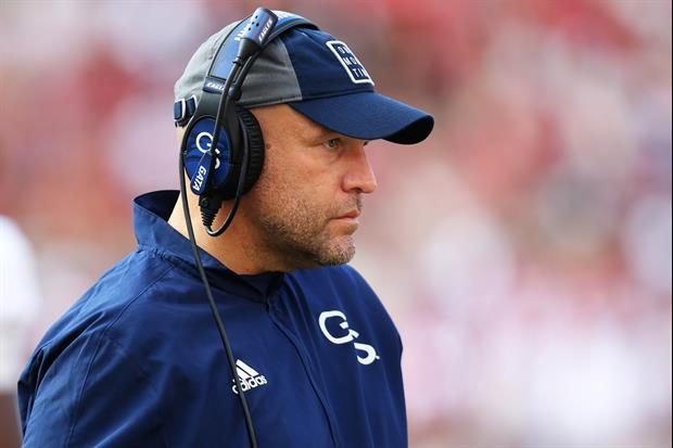 Georgia Southern Coach Chad Lunsford's Perspective On His 1-2 Start Is Worth A Listen
