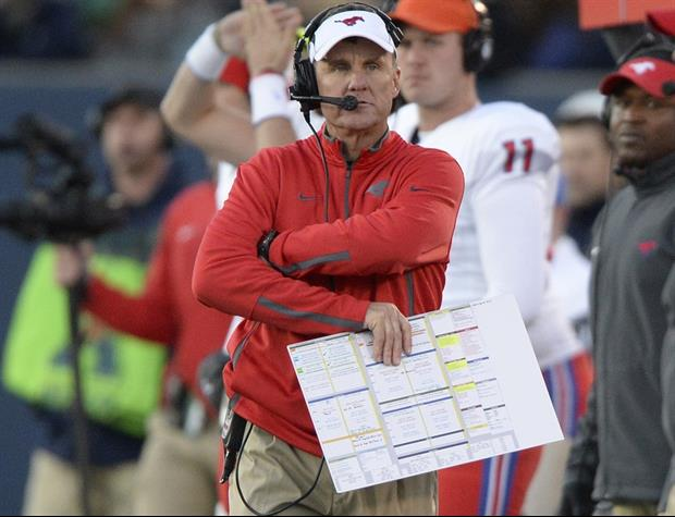 SMU Football Coach Chad Morris Is The Worst Dancer