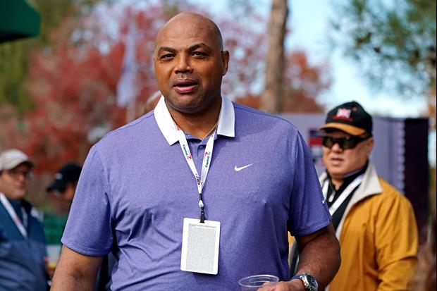 A Look At Charles Barkley's New Golf Swing