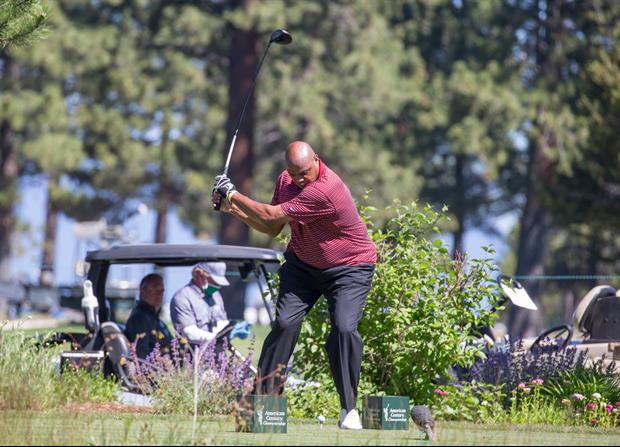 Charles Barkley Is Crushing The Ball With His New Swing