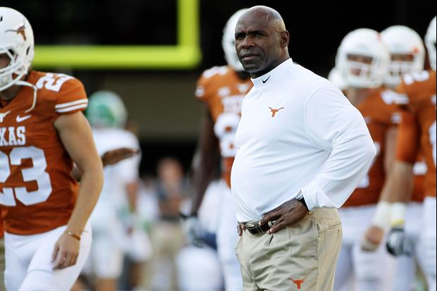 Texas Players Are Threatening To Boycott TCU Game If Charlie Strong Is Fired