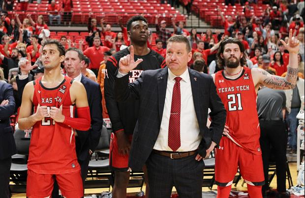 Texas Tech Has Been Blaring 'One Shining Moment' At Today's Practice