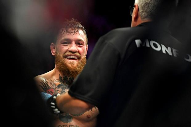 Unseen Footage Of Conor McGregor Battling Khabib's Crew In The Ring After Fight