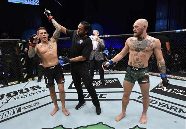 Video Shows Conor McGregor's Message To Dustin Poirier After UFC 257