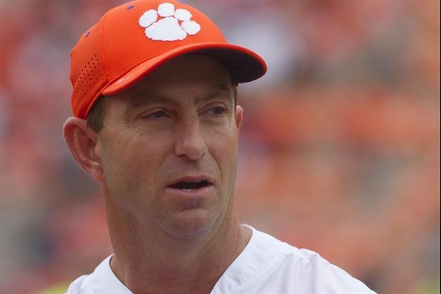 Dabo Swinney Goes Off On Clemson Fans Complaining About 21 ...