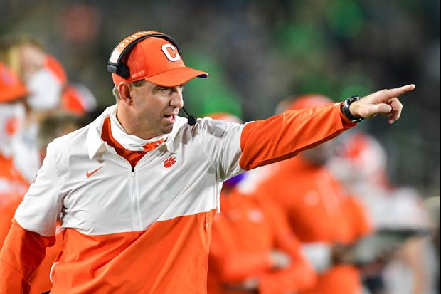 Dabo Swinney Accuses Florida State of Faking Coronavirus Concerns To Avoid Playing Clemson