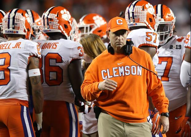 Dabo Swinney Comments On The 'Alabama Clause' In His New Contract